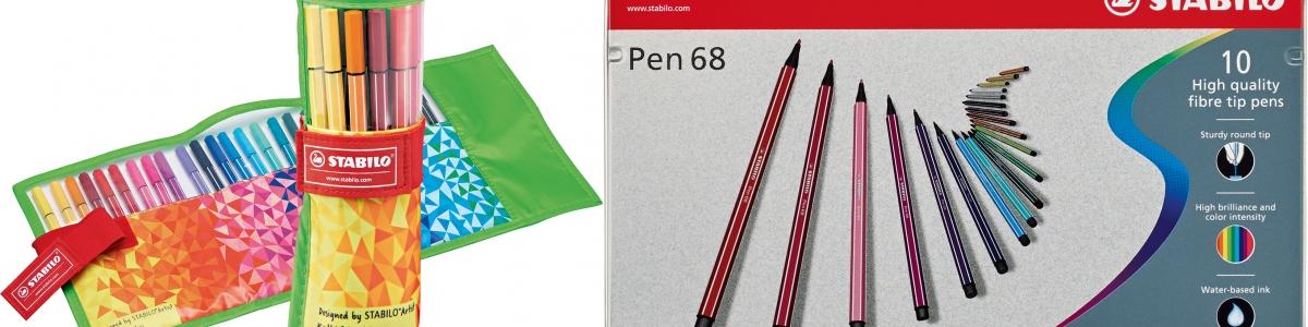 Confezioni Stabilo Pen 68