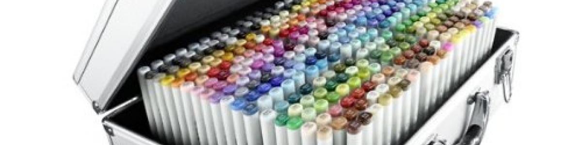 801-21075450 Valigietta Copic Sketch 358 Colori ORDINABILE SOLO SU RICHIESTA