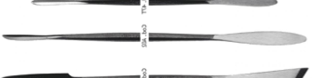 Spatole Gesso-Restauro-Raspe