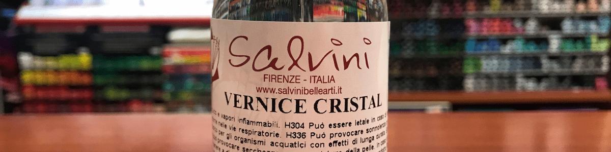 Vernice Trasparente Crystal Salvini-Cobea