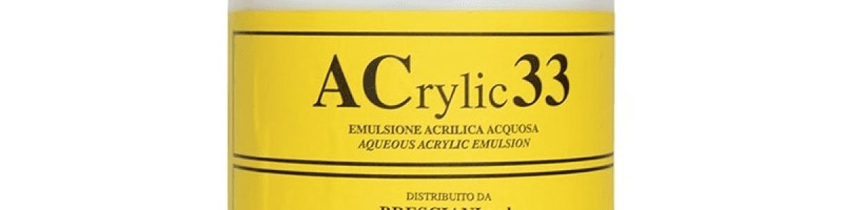 ACRYLIC 33 EMULSIONE ACRILICA