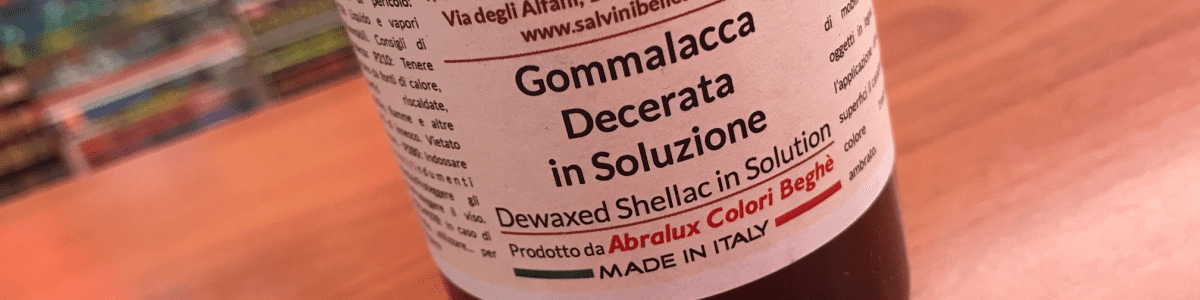 Gomma Lacca Decerata Liquida Salvini-Abralux