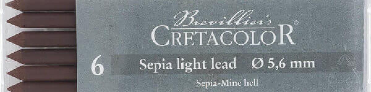 Mina Sepia 5,6 MM Cretacolor
