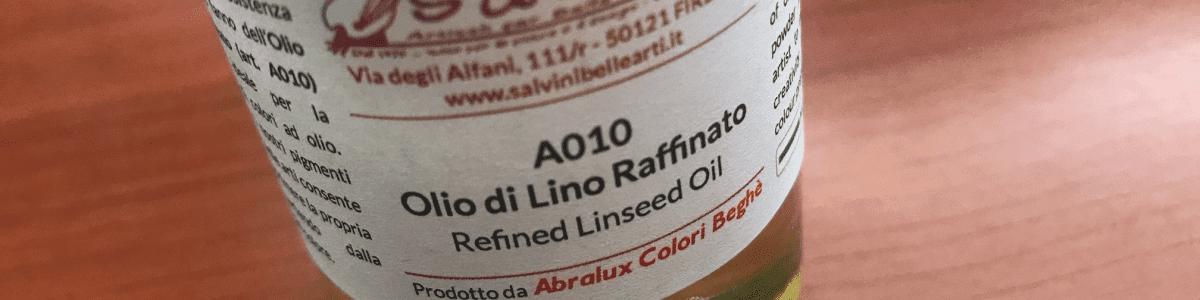 Olio di Lino Salvini-Abralux