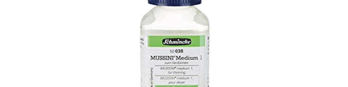 Olio Medium 1 per Diluire 038 Schmincke