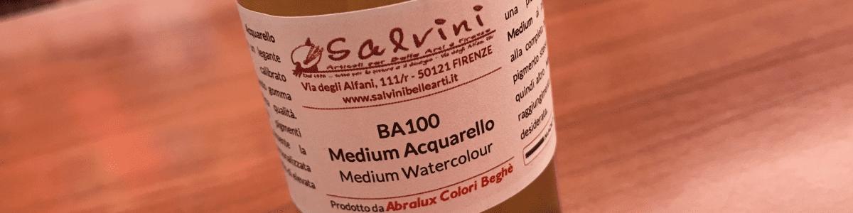 Medium per Acquerelli Salvini-Abralux