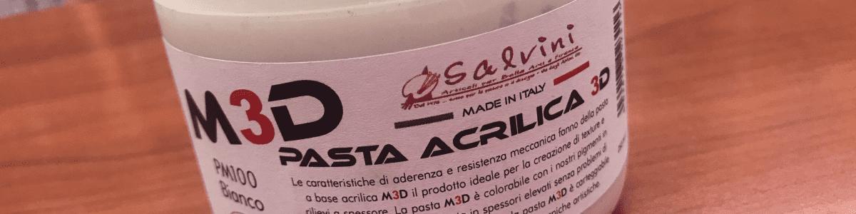 Pasta Modellabile Acrilica Salvini-Abralux