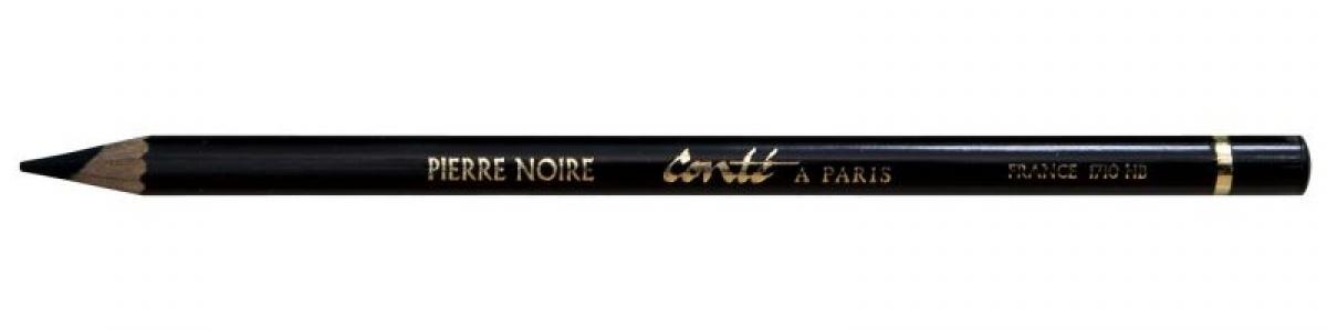 Pierre Noir Carboncino a Matita Contè a Paris