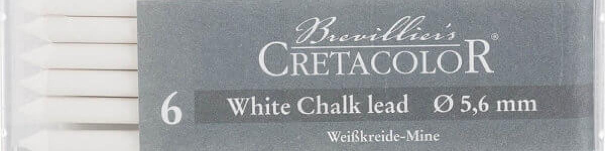 Mina White Pastel 5,6 MM Cretacolor