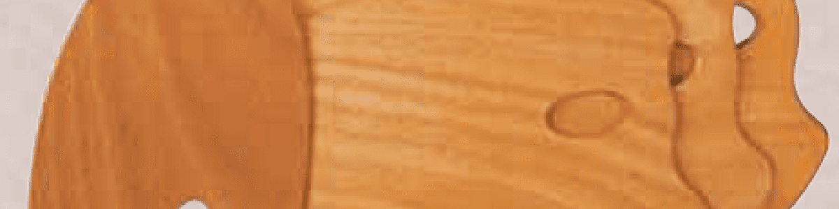 Tavolozze di legno Ovali