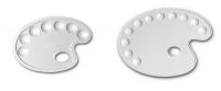 Tavolozze di plastica Ovali