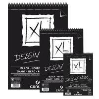 Blocco Canson XL Dessin Noir 150gr
