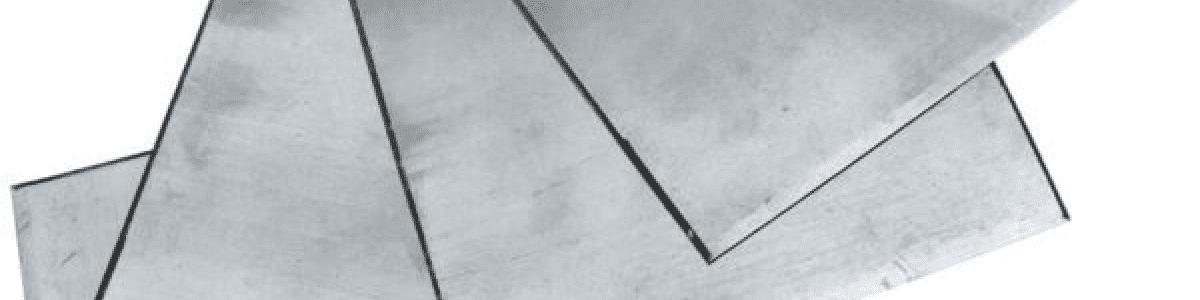 Lastre di Zinco Lucido per Incisione